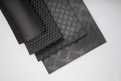 EXTRUCTED RUBBER SHEETS